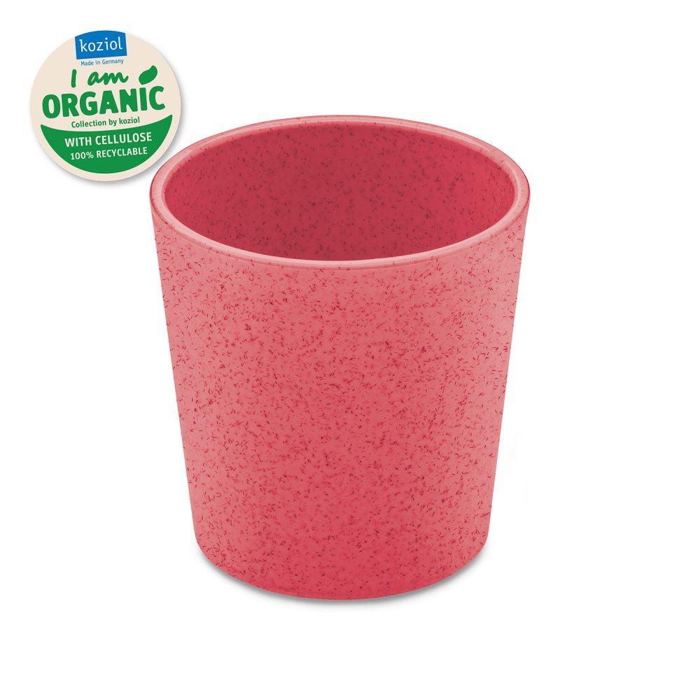 CONNECT CUP Becher 190ml organic coral