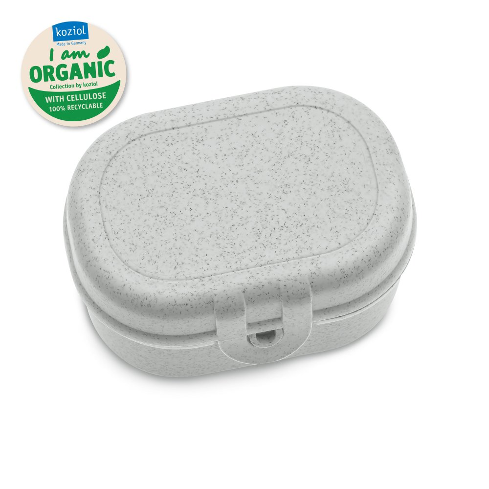 PASCAL MINI ORGANIC Lunchbox organic grey