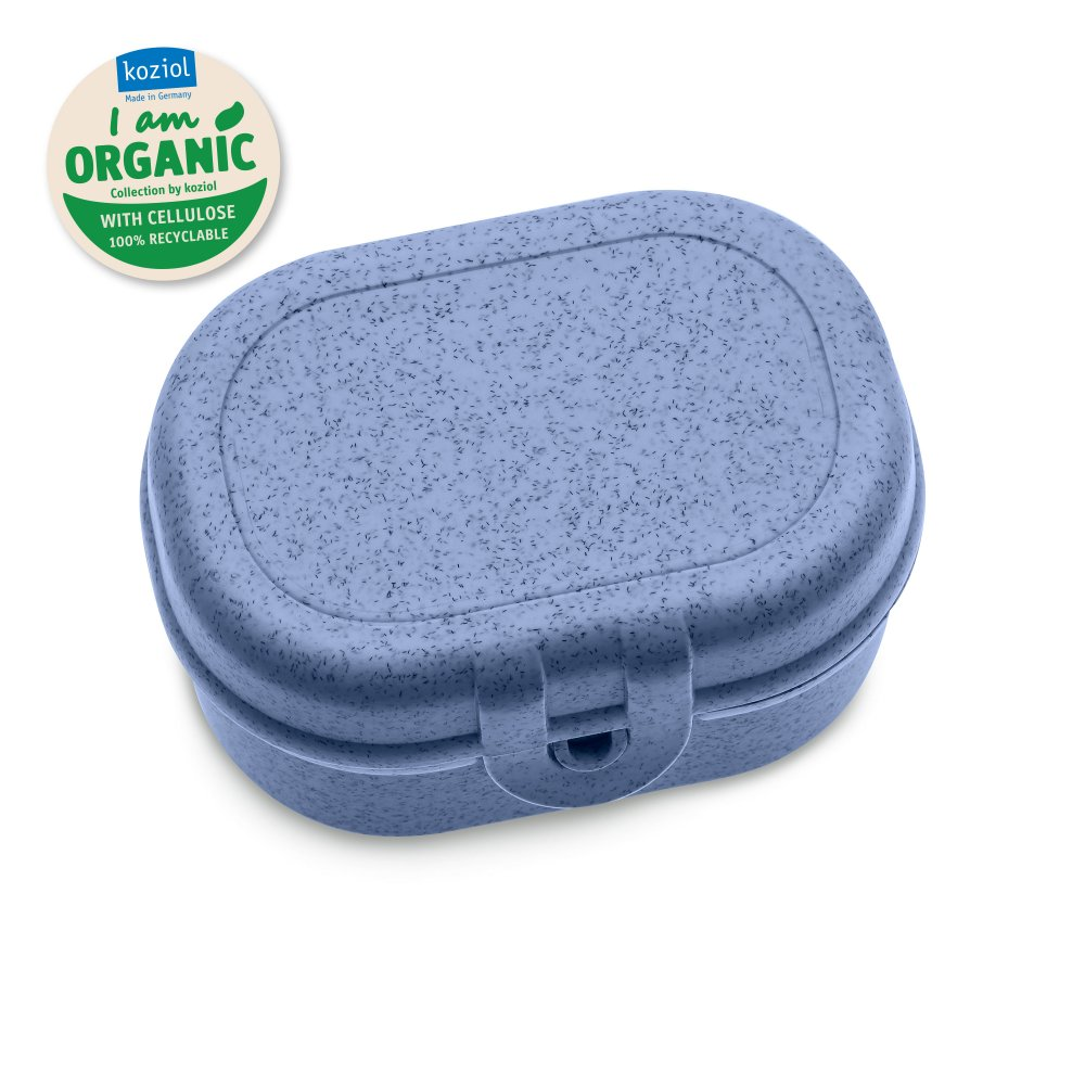 PASCAL MINI Lunchbox organic blue