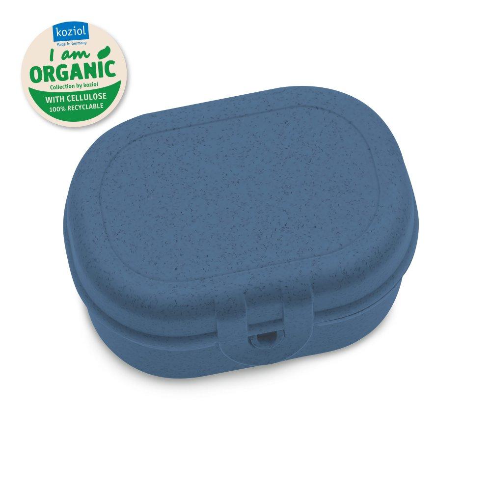 PASCAL MINI Lunch Box organic deep blue