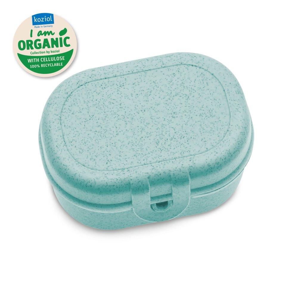PASCAL MINI Lunchbox organic aqua