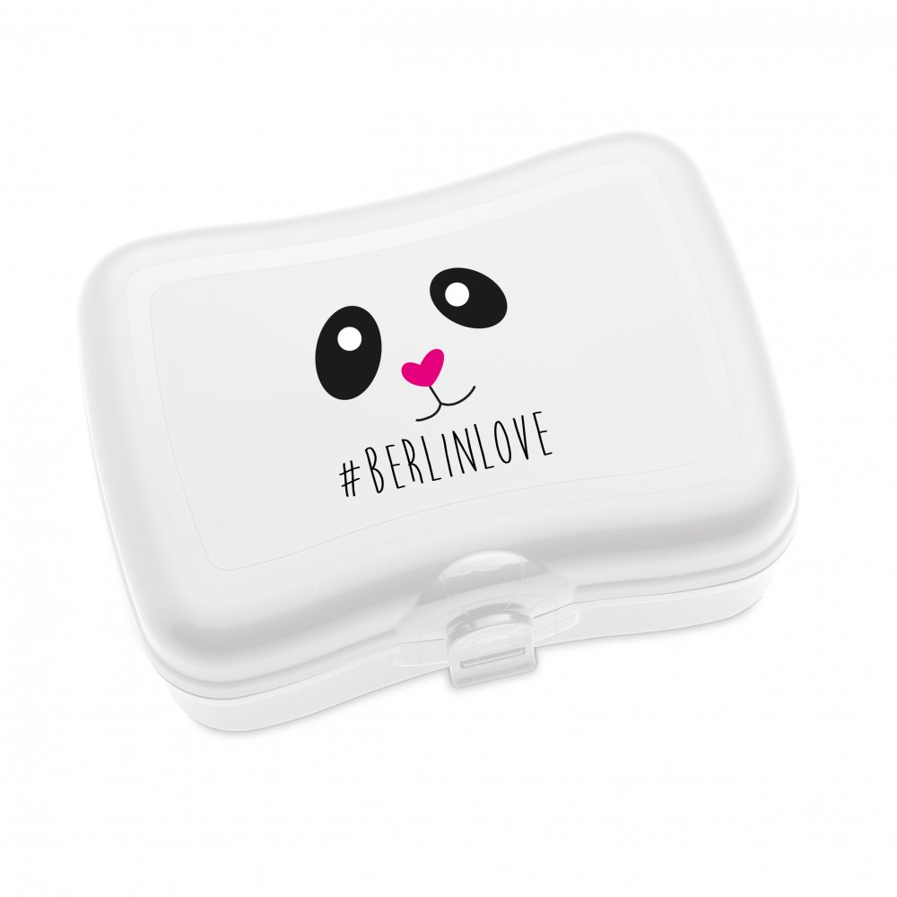 BASIC - BERLINLOVE Lunch Box with print cotton white