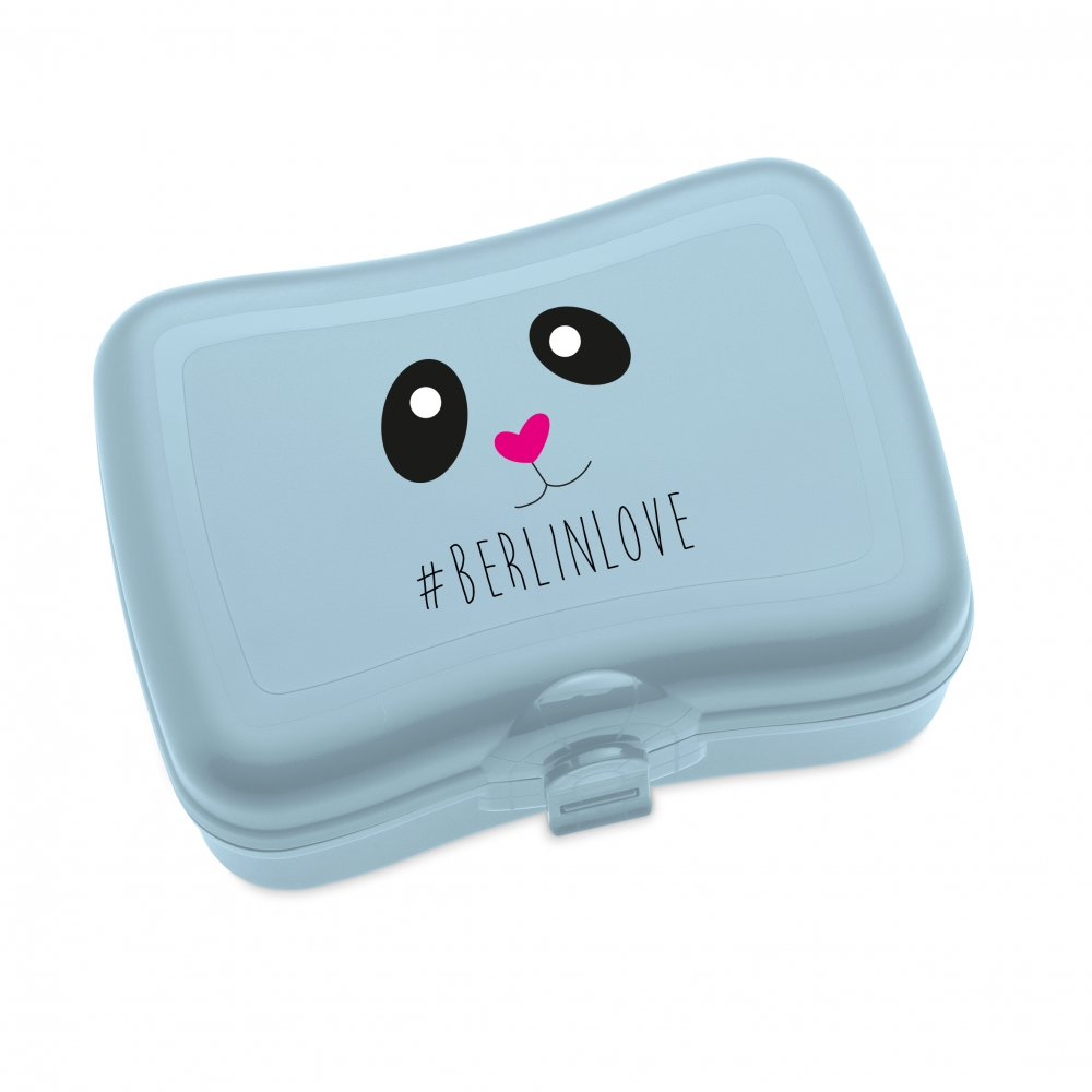 BASIC - BERLINLOVE Lunch Box with print powder blue