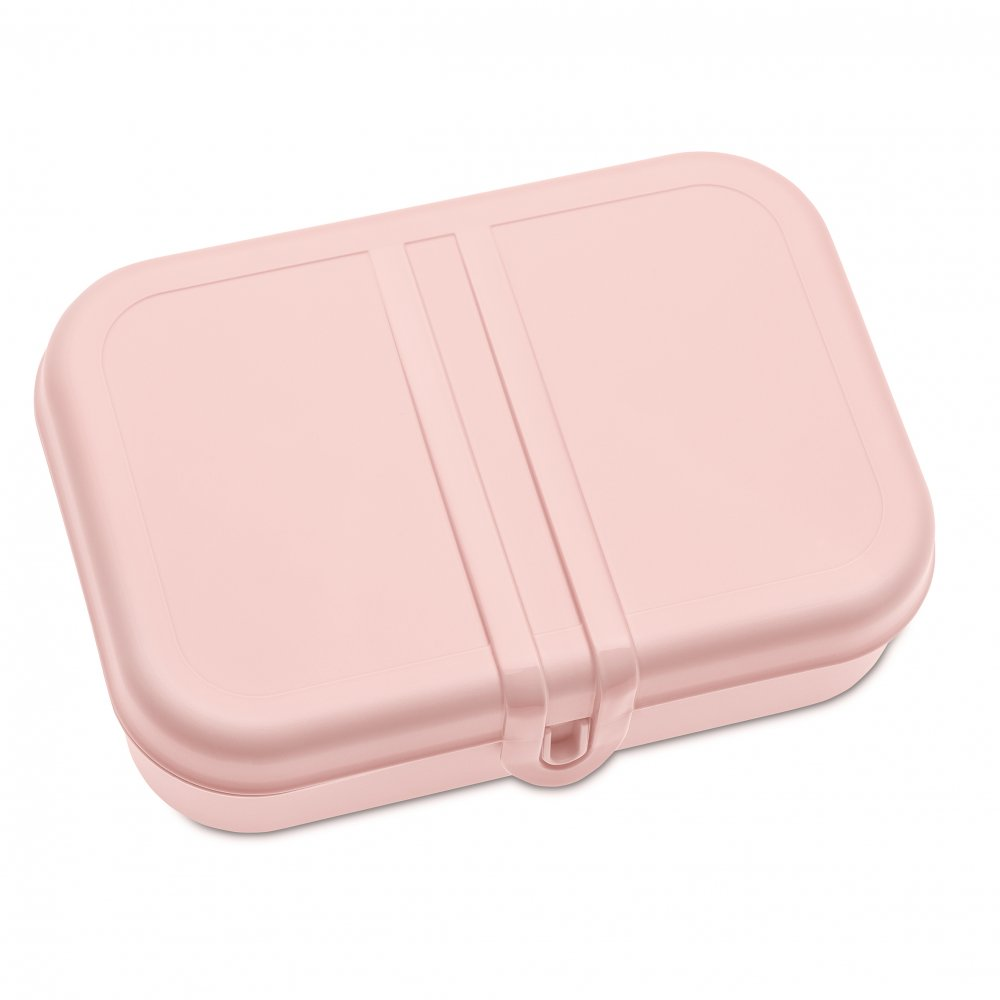 PASCAL L Lunchbox mit Trennsteg powder pink-cotton white