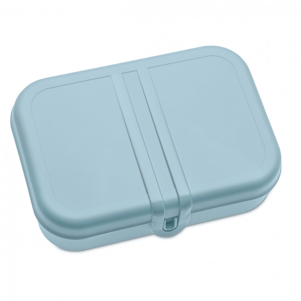 PASCAL L Lunch Box with Separator powder blue-cotton white