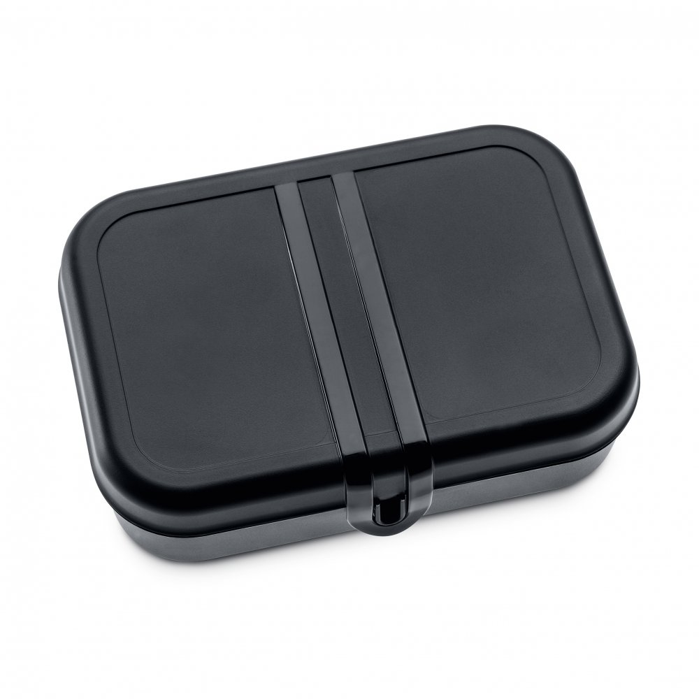 PASCAL L Lunch Box with Separator cosmos black-cotton white