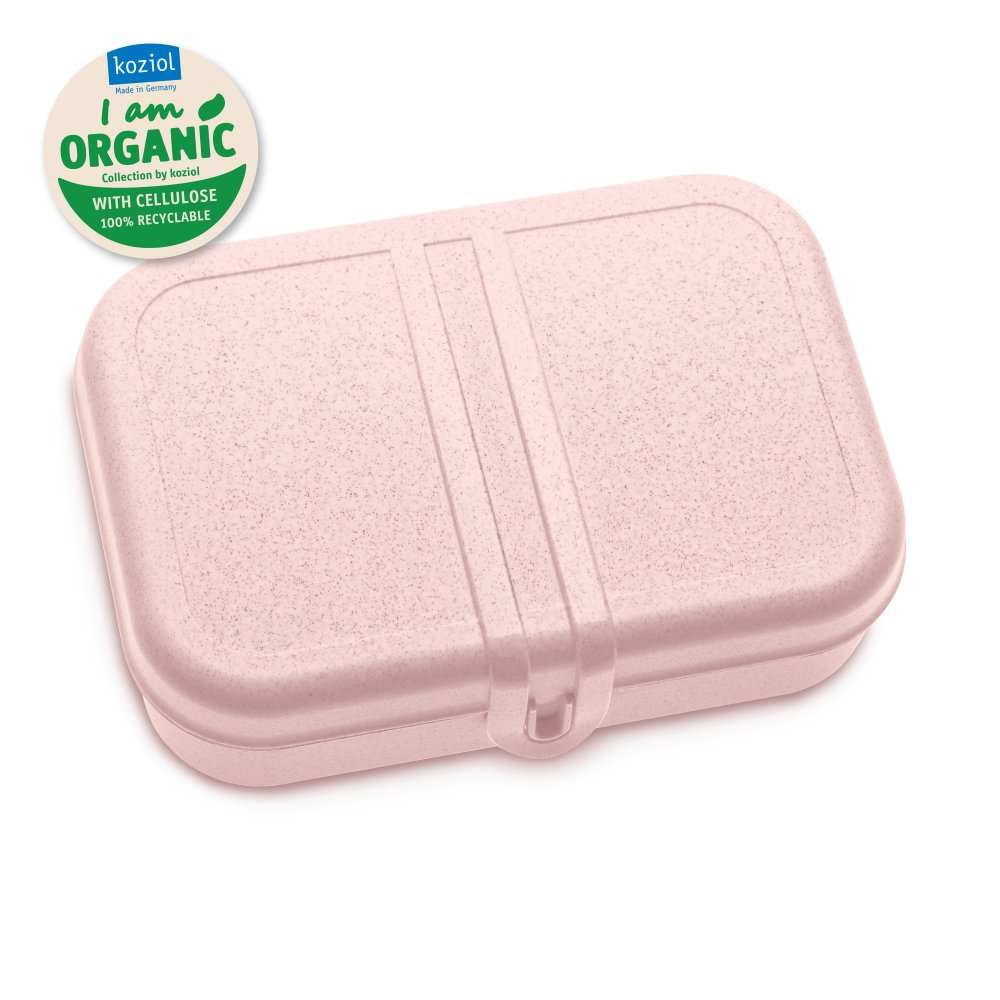 PASCAL L ORGANIC Lunch Box with Separator organic pink