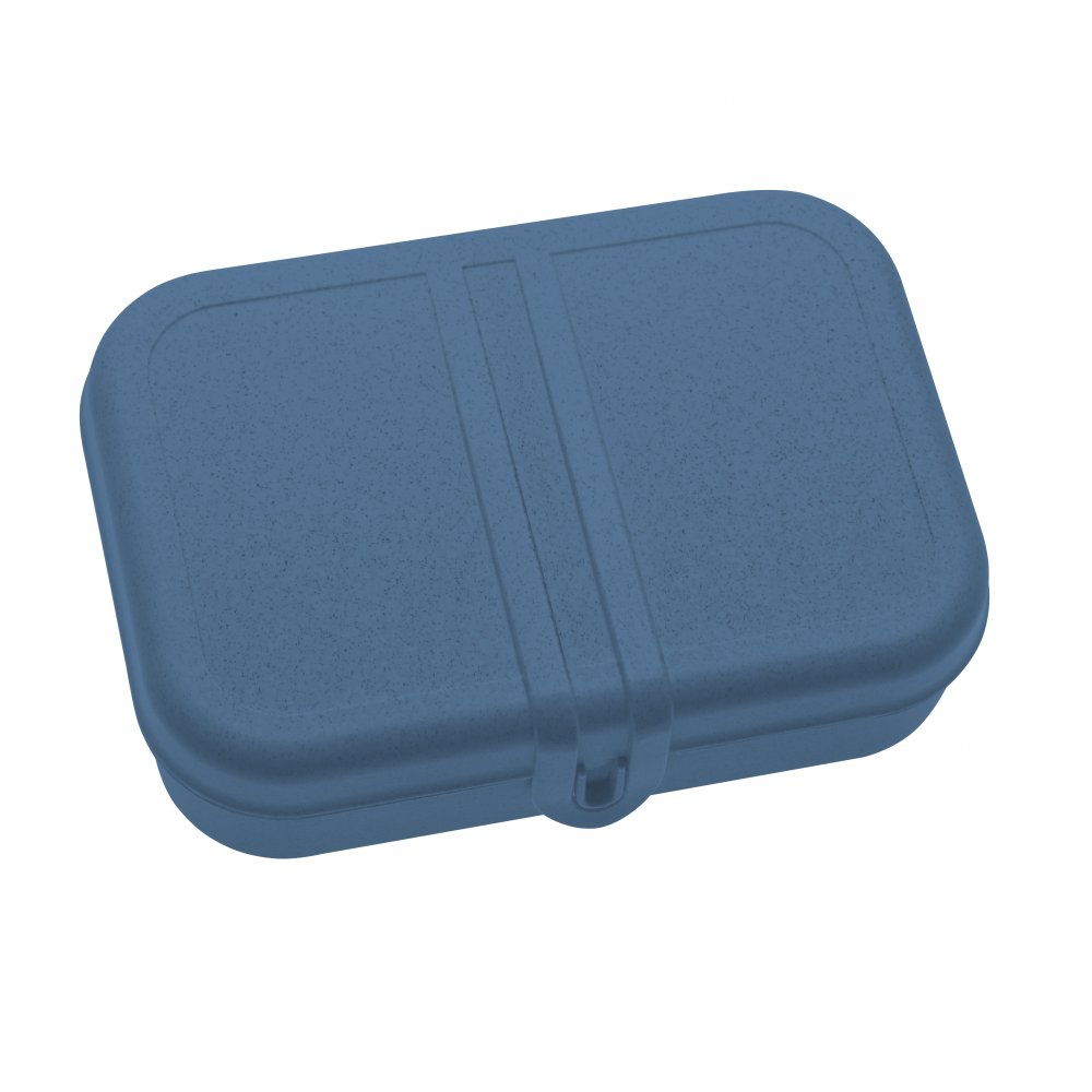 PASCAL L Lunch Box with separator organic deep blue