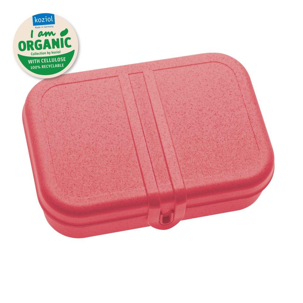 PASCAL L Lunchbox mit Trennsteg organic coral