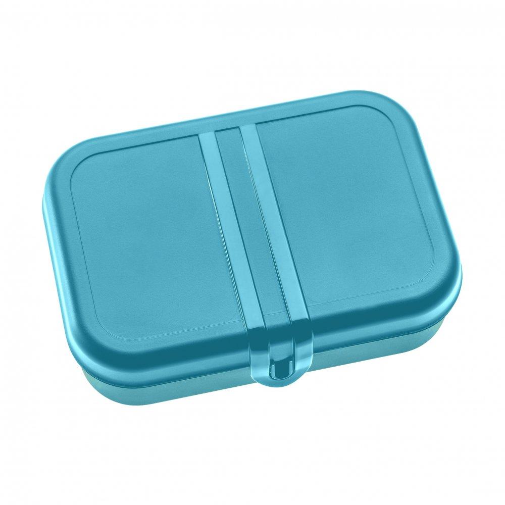 PASCAL L Lunchbox mit Trennsteg ocean blue