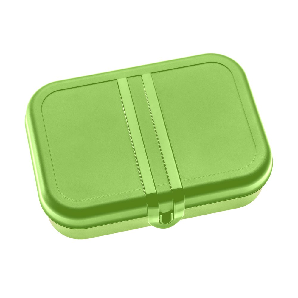 PASCAL L Lunch Box with Separator healthy green
