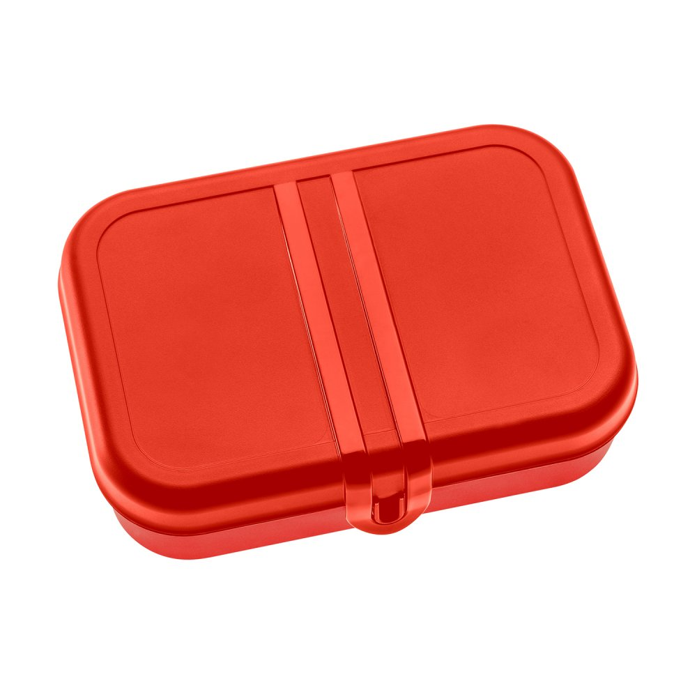 PASCAL L Lunch Box with Separator de stijl red