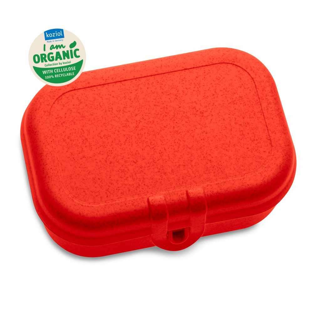 PASCAL S Lunchbox organic red
