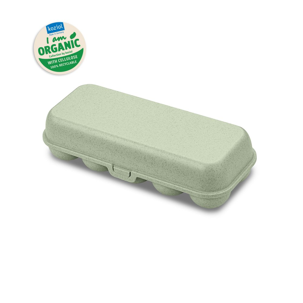 EGGS TO GO Eierbox organic green