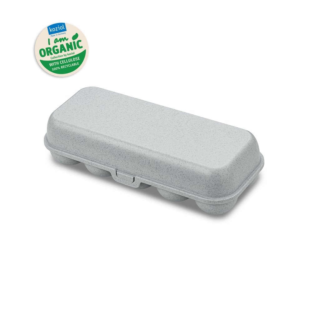 EGGS TO GO Egg Box organic grey
