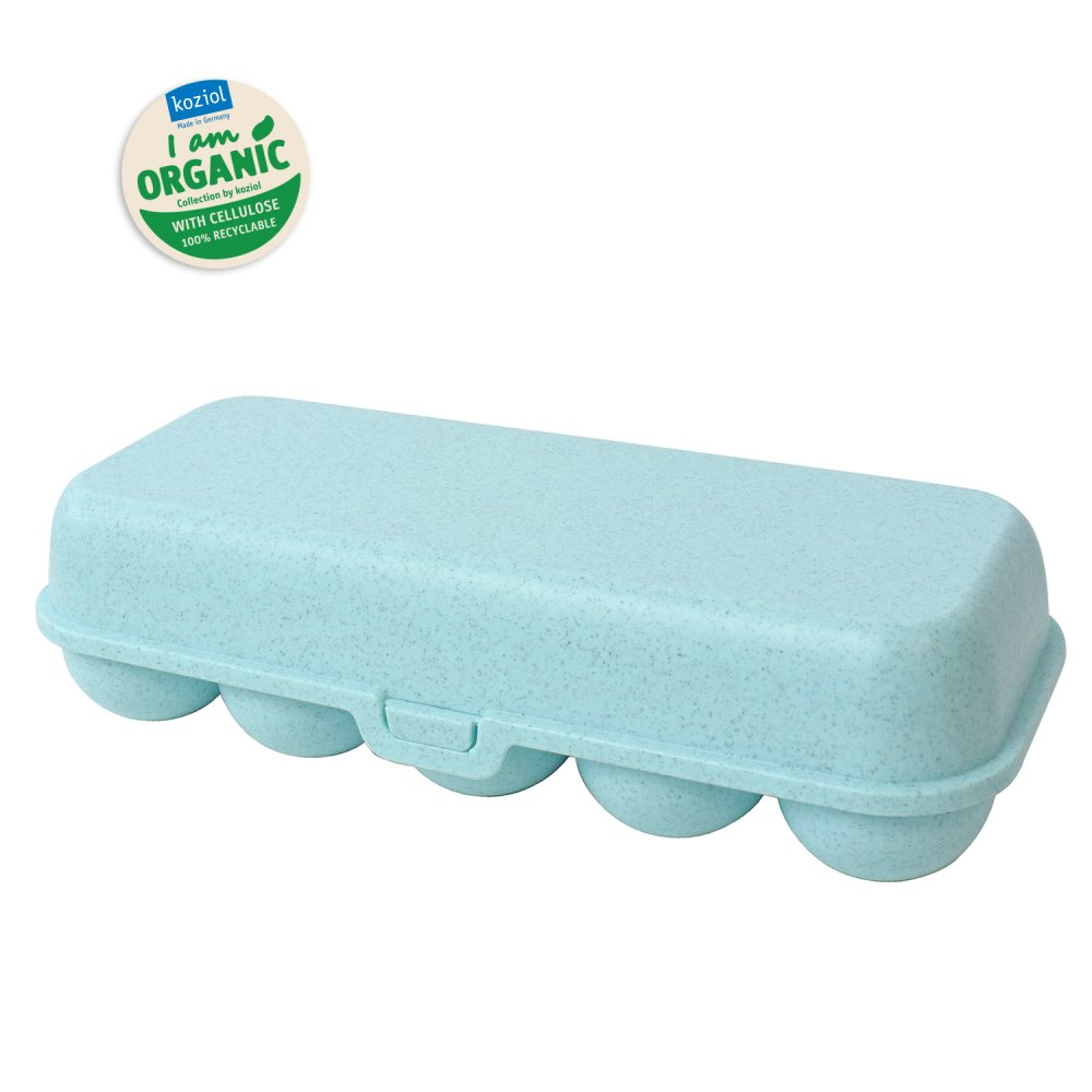 EGGS TO GO Egg Box oranic aqua