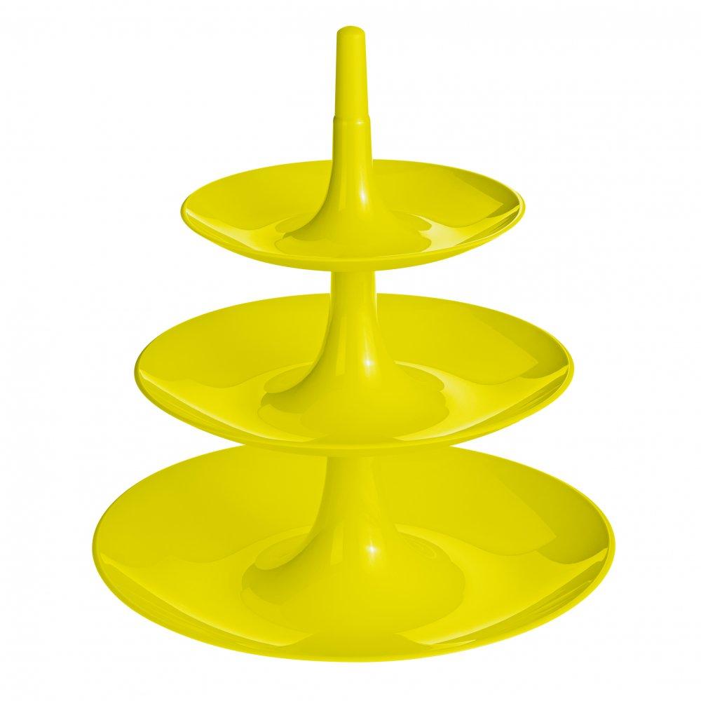 BABELL L Etagere mustard green