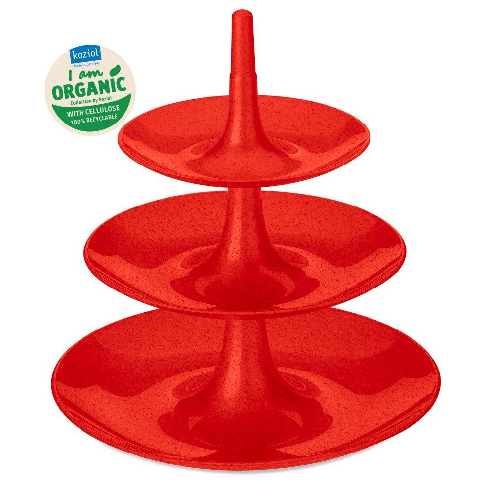 BABELL L Etagère organic red