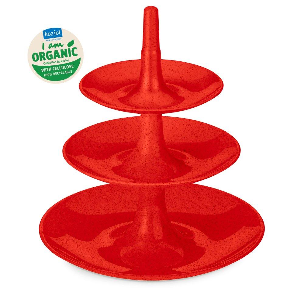 BABELL XS Etagère organic red