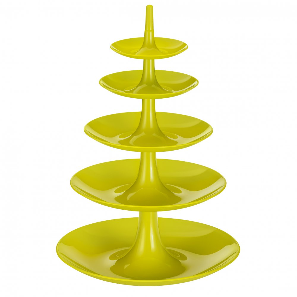 BABELL BIG Etagere mustard green