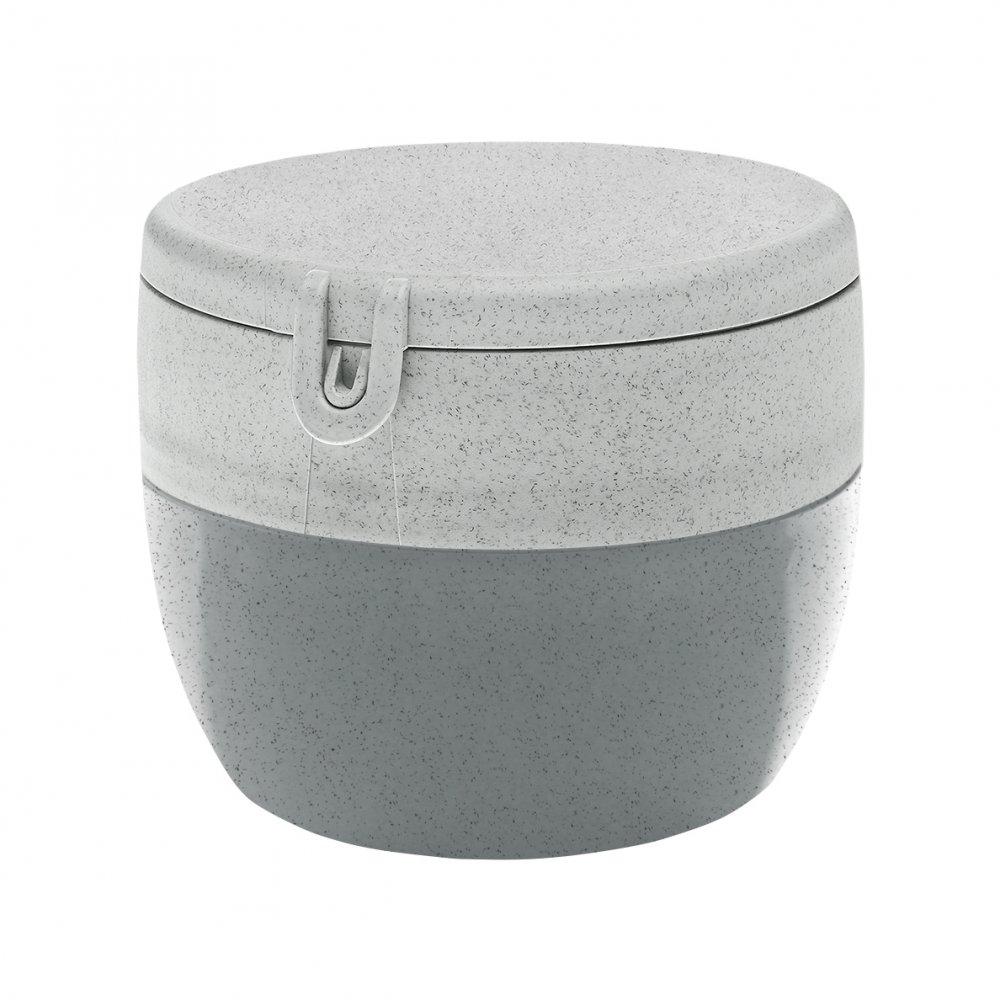 BENTOBOX M Organic Bentobox organic concrete grey