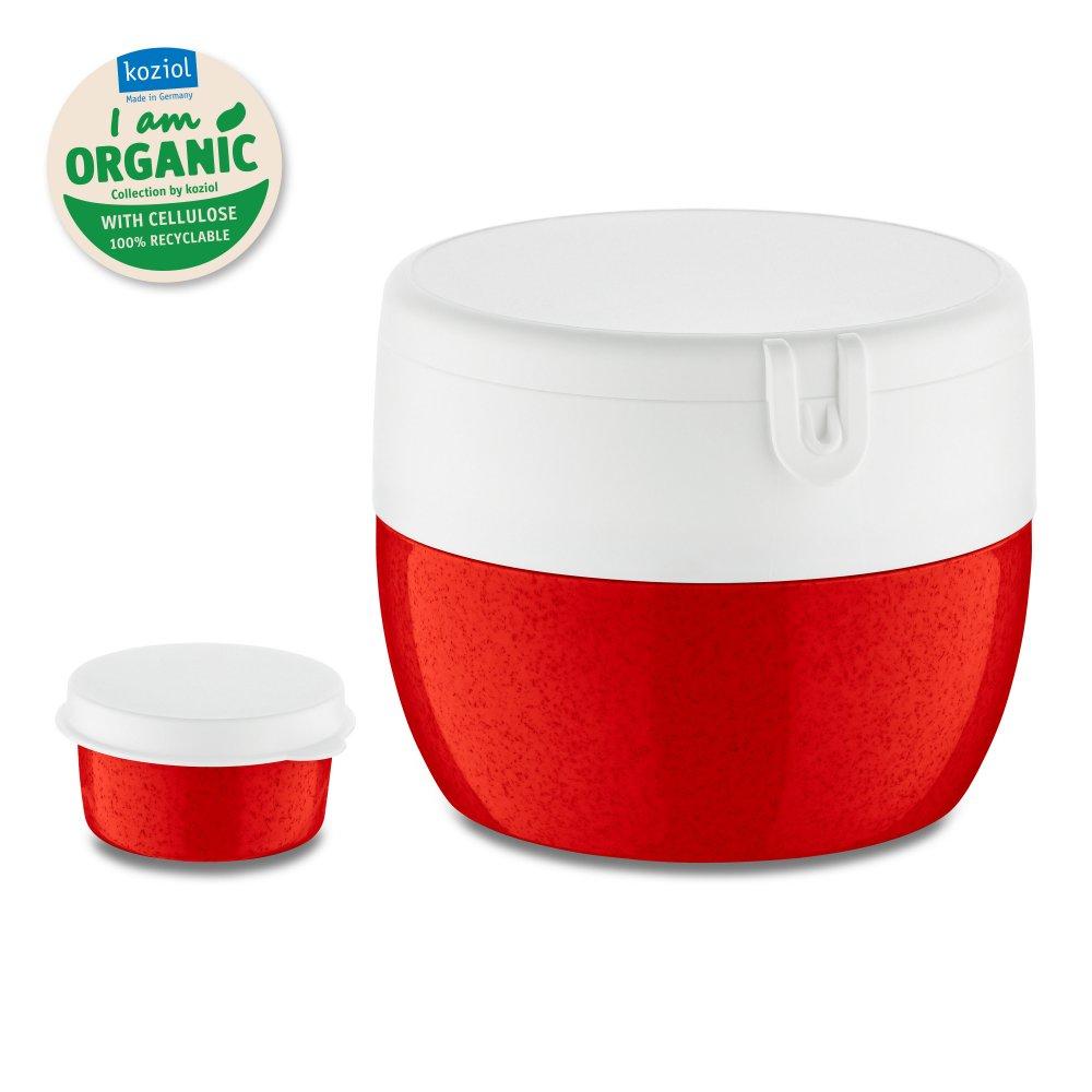BENTOBOX M Organic Bentobox organic red