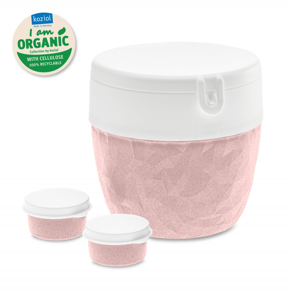 CLUB ORGANIC Bento Box organic pink