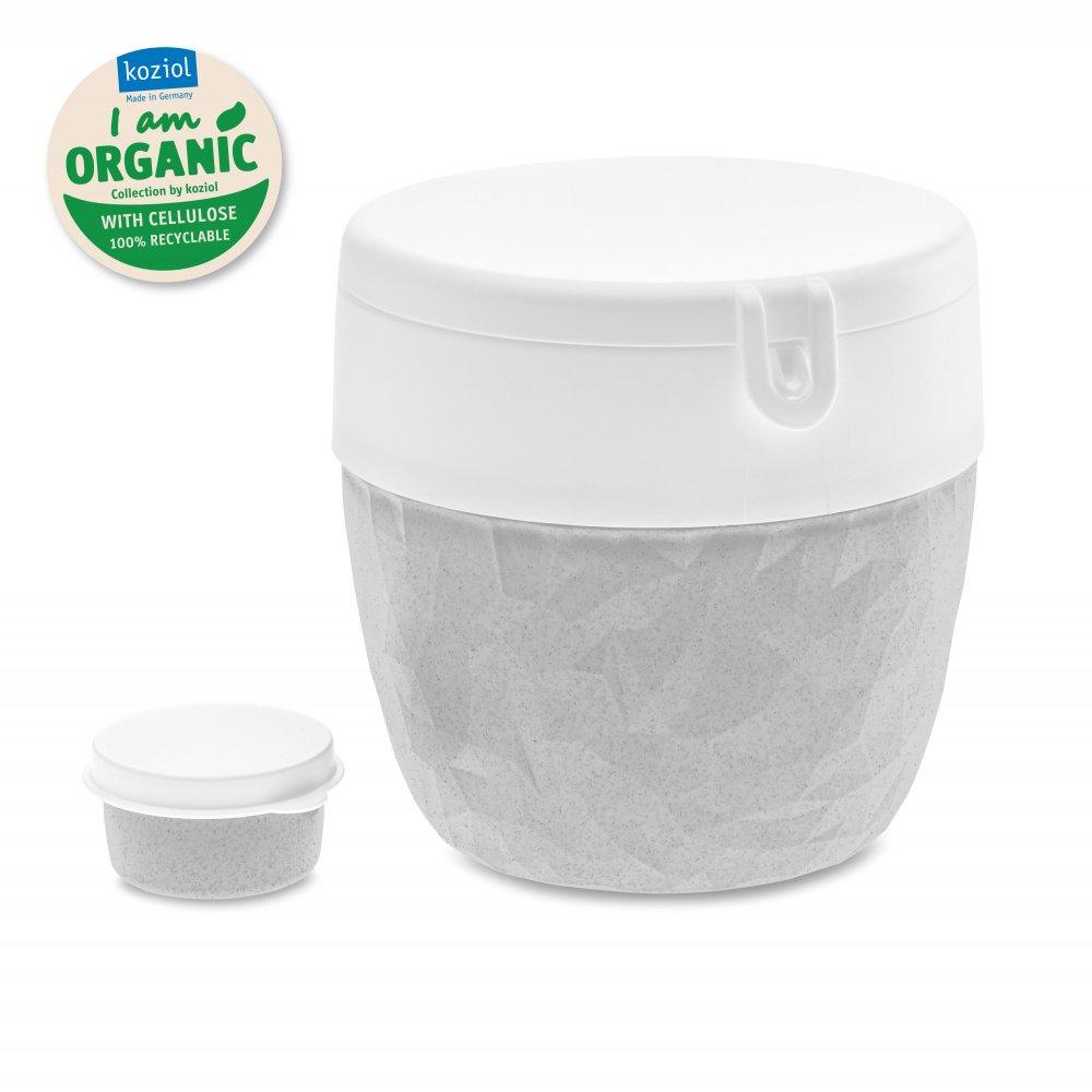 BENTOBOX L ORGANIC Bentobox organic grey