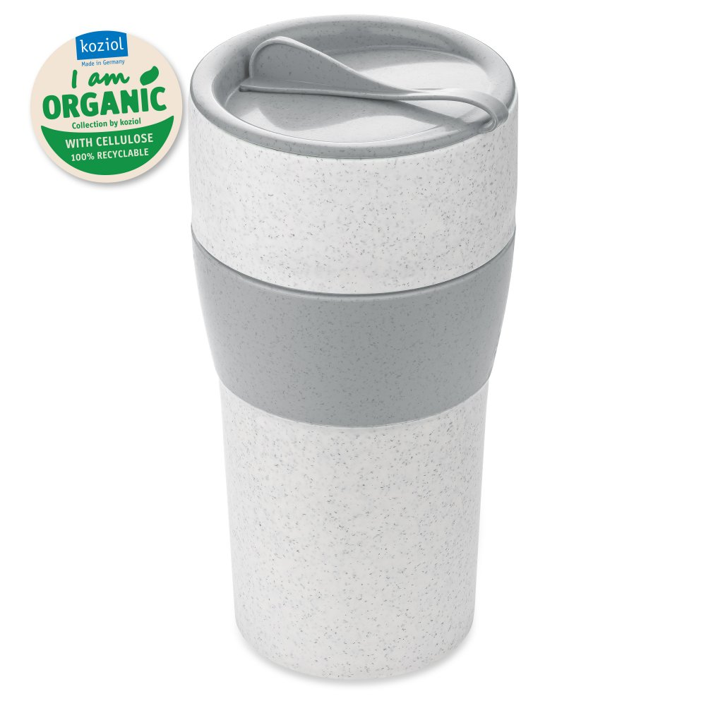 AROMA TO GO XL Thermobecher mit Deckel 700ml organic grey