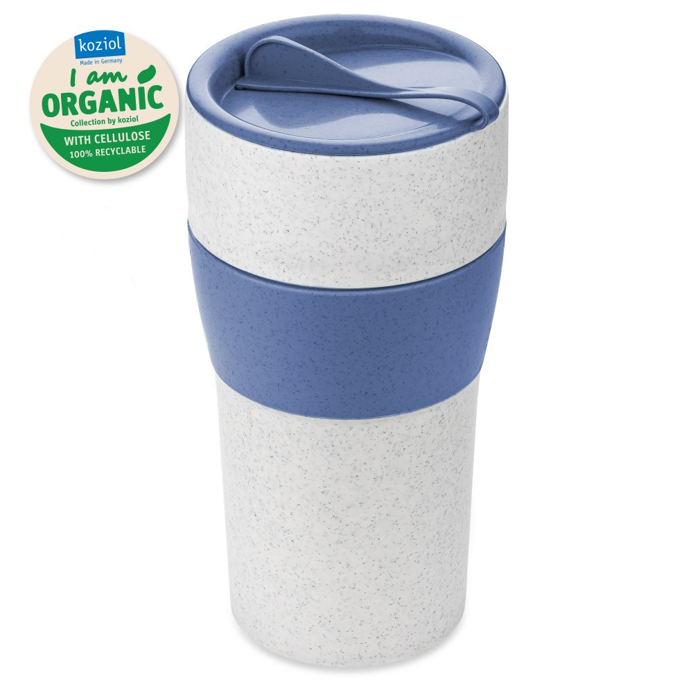 AROMA TO GO XL Thermobecher mit Deckel 700ml organic blue