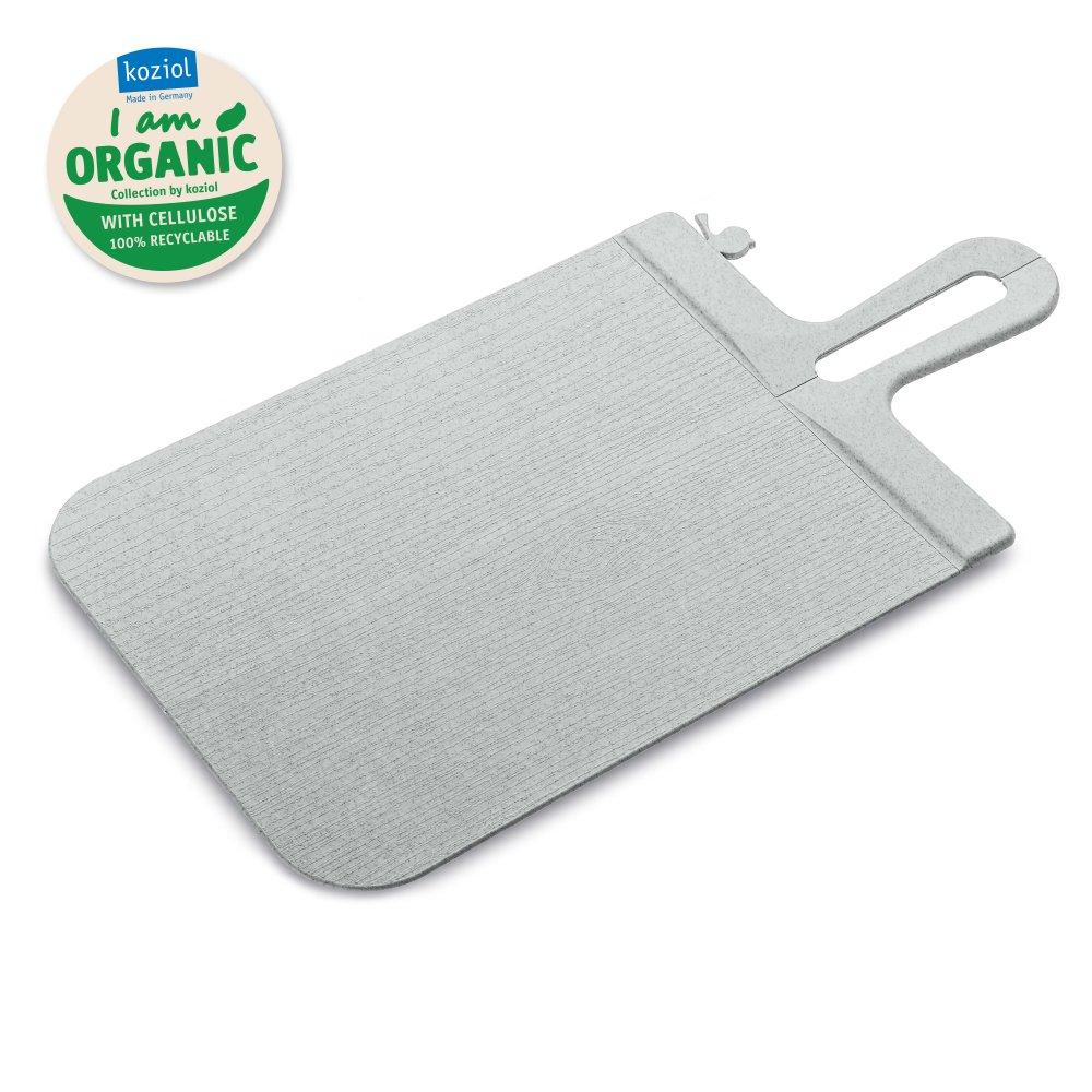 SNAP S Cutting Board organic grey