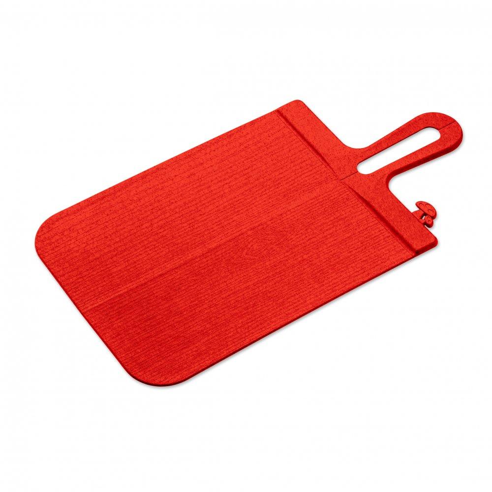 SNAP L Cutting Board organic red