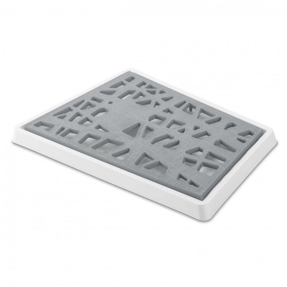 MATRIX Bread Cutting Board cotton white-cool grey