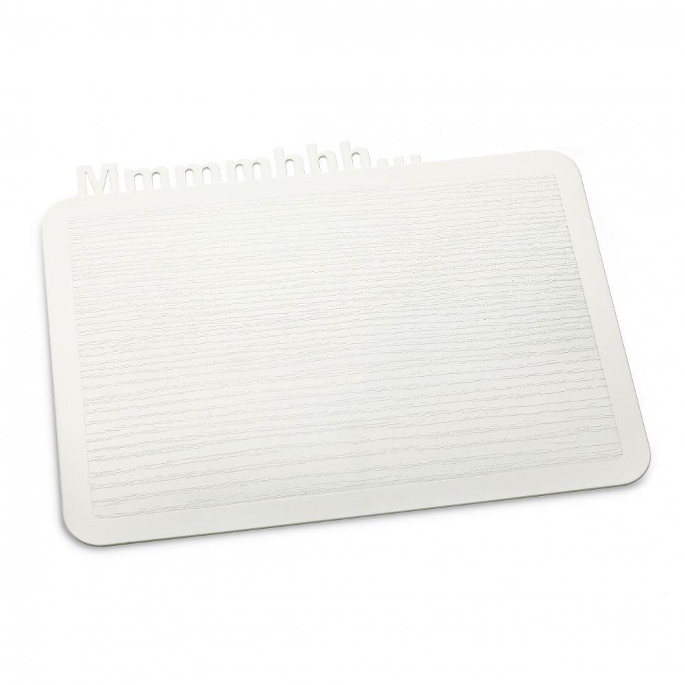 HAPPY BOARD Mmmmhhh... Snack Board cotton white
