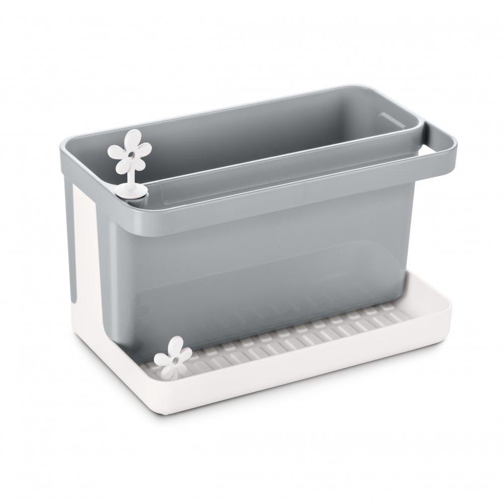 PARK IT Spül-Organizer cotton white-cool grey