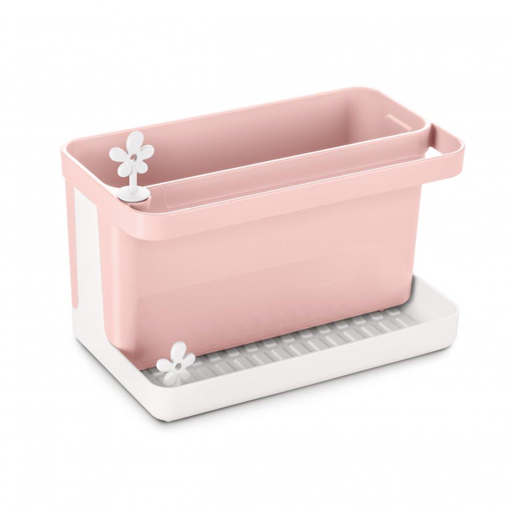 PARK IT Spül-Organizer cotton white-powder pink