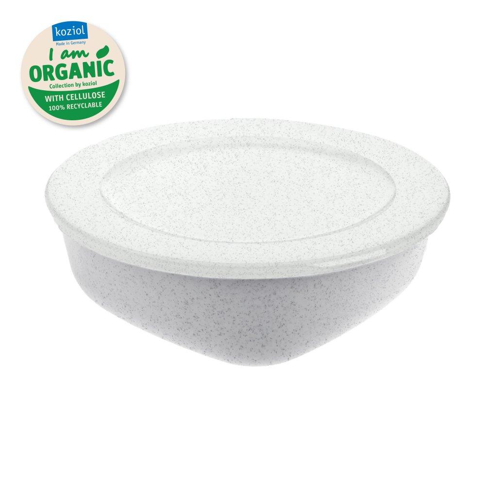CONNECT BOX 1,3 Box with lid 1,3l organic grey-organic white