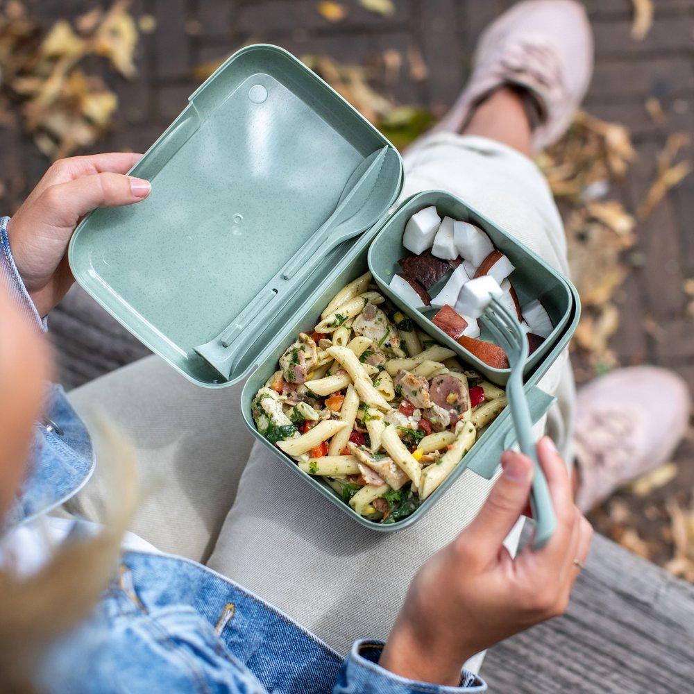 CANDY READY Lunch Box-Set + Cutlery-Set