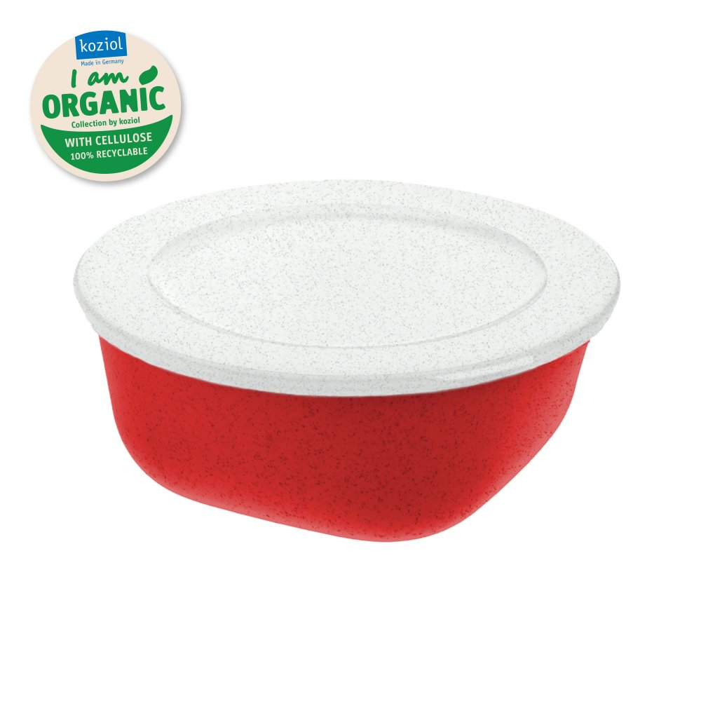 CONNECT BOX 0,7 Box with lid 700ml organic red-organic white