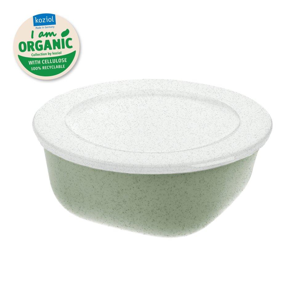 CONNECT BOX 0,7 Box mit Deckel 700ml organic green-organic white