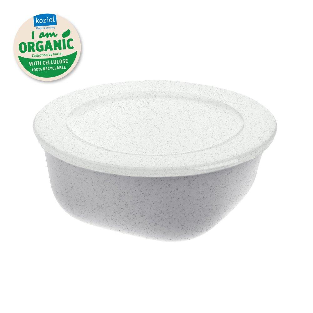 CONNECT BOX 0,7 Box mit Deckel 700ml organic grey-organic white