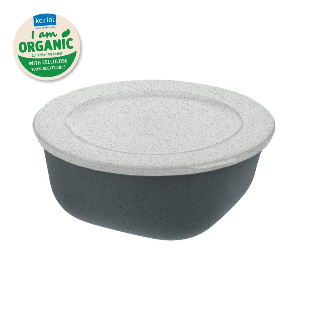 CONNECT BOX 0,7 Box with lid 700ml organic deep grey
