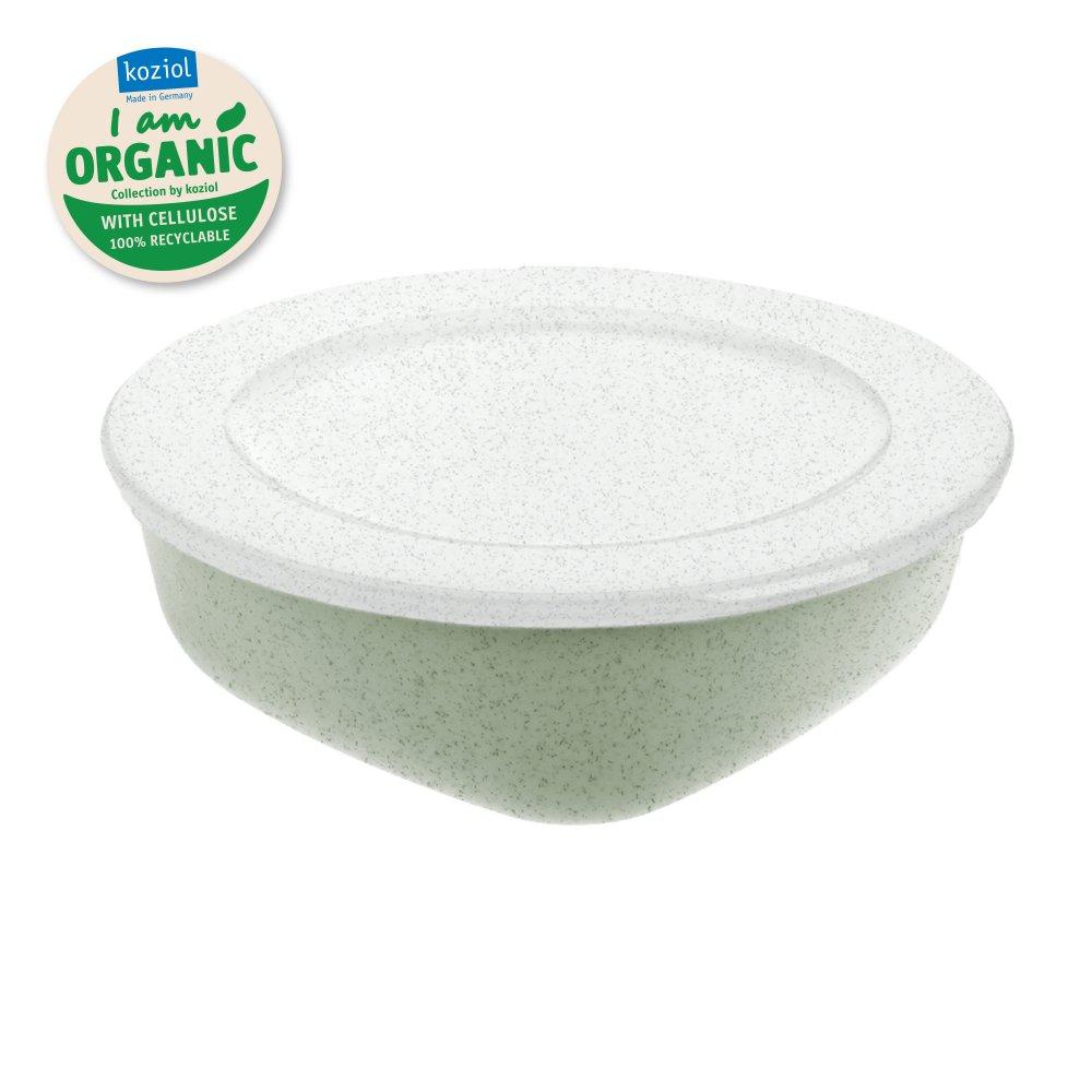 CONNECT BOX 1,3 Box mit Deckel 1,3l organic green-organic white