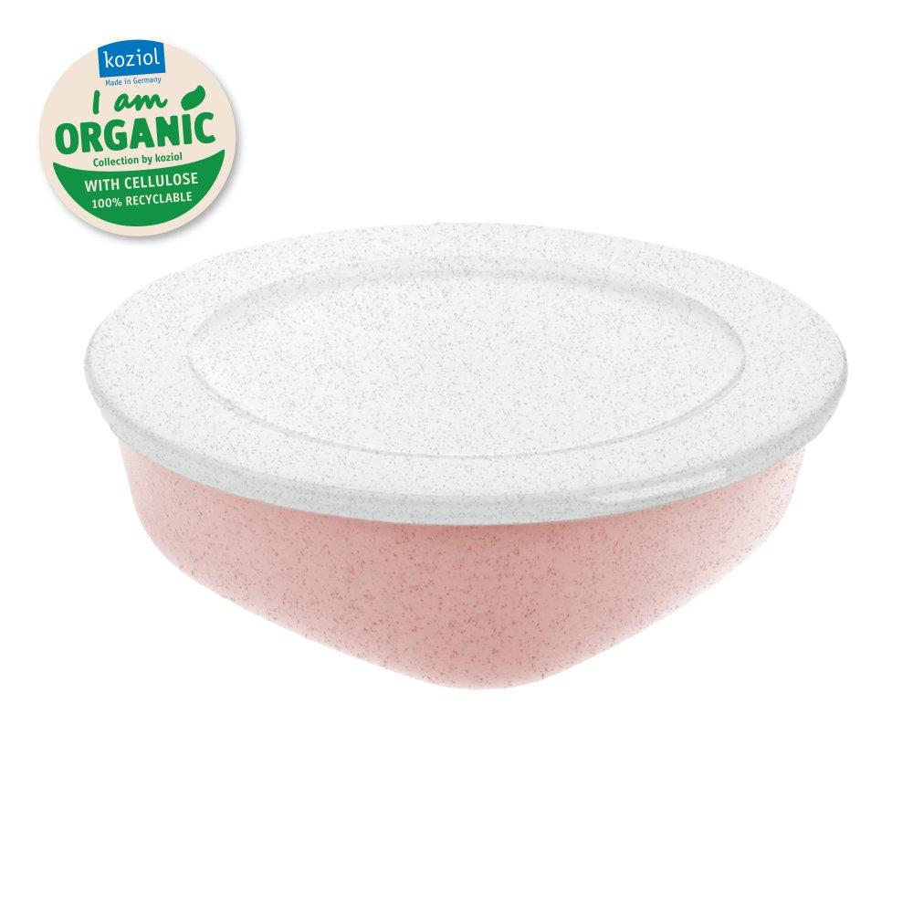 CONNECT BOX 1,3 Box mit Deckel 1,3l organic pink-organic white