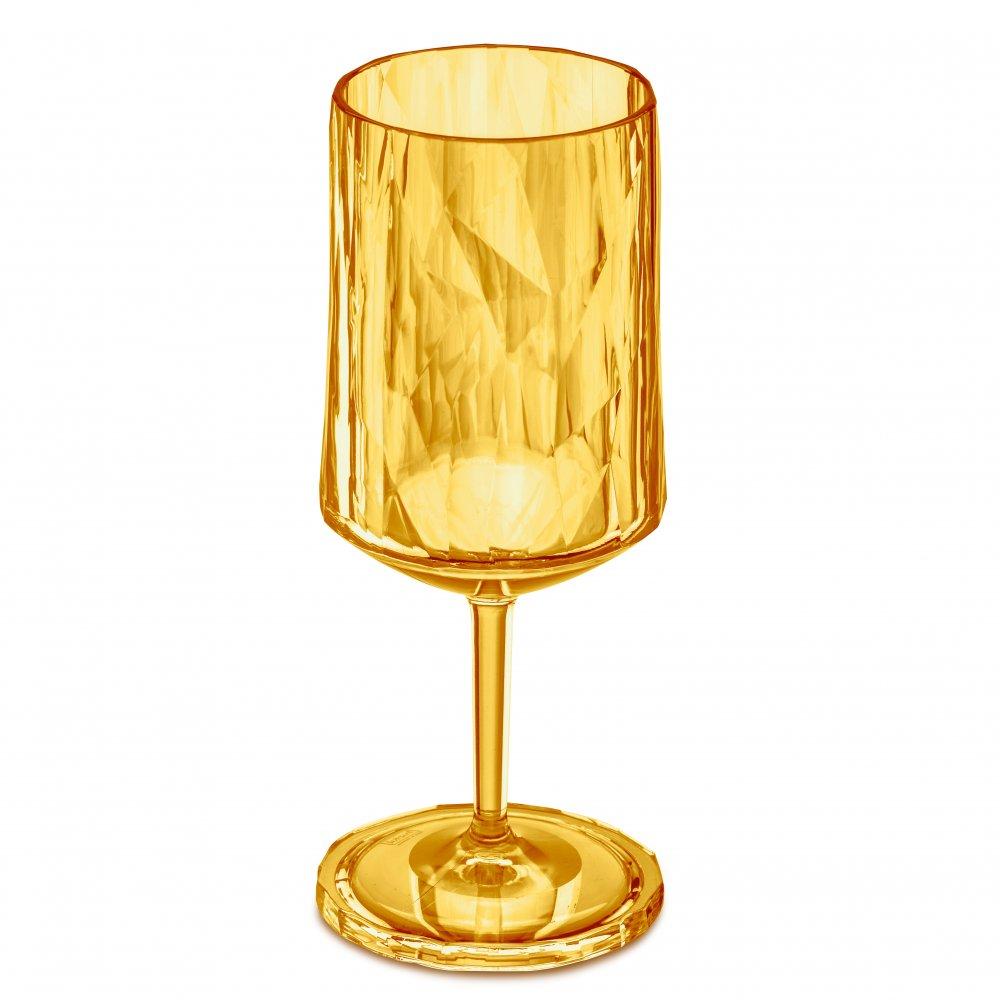 CLUB NO. 4 Glas 350ml transparent amber