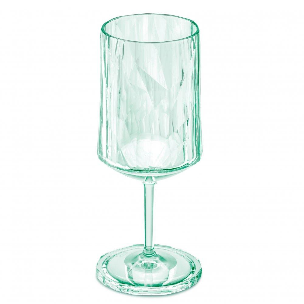 CLUB NO. 4 Superglas 300ml transparent jade