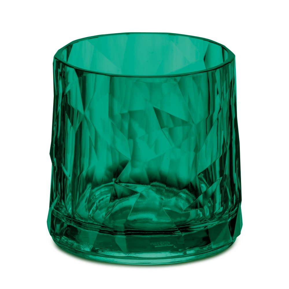 CLUB NO. 2 Superglas 250ml transparent emerald green