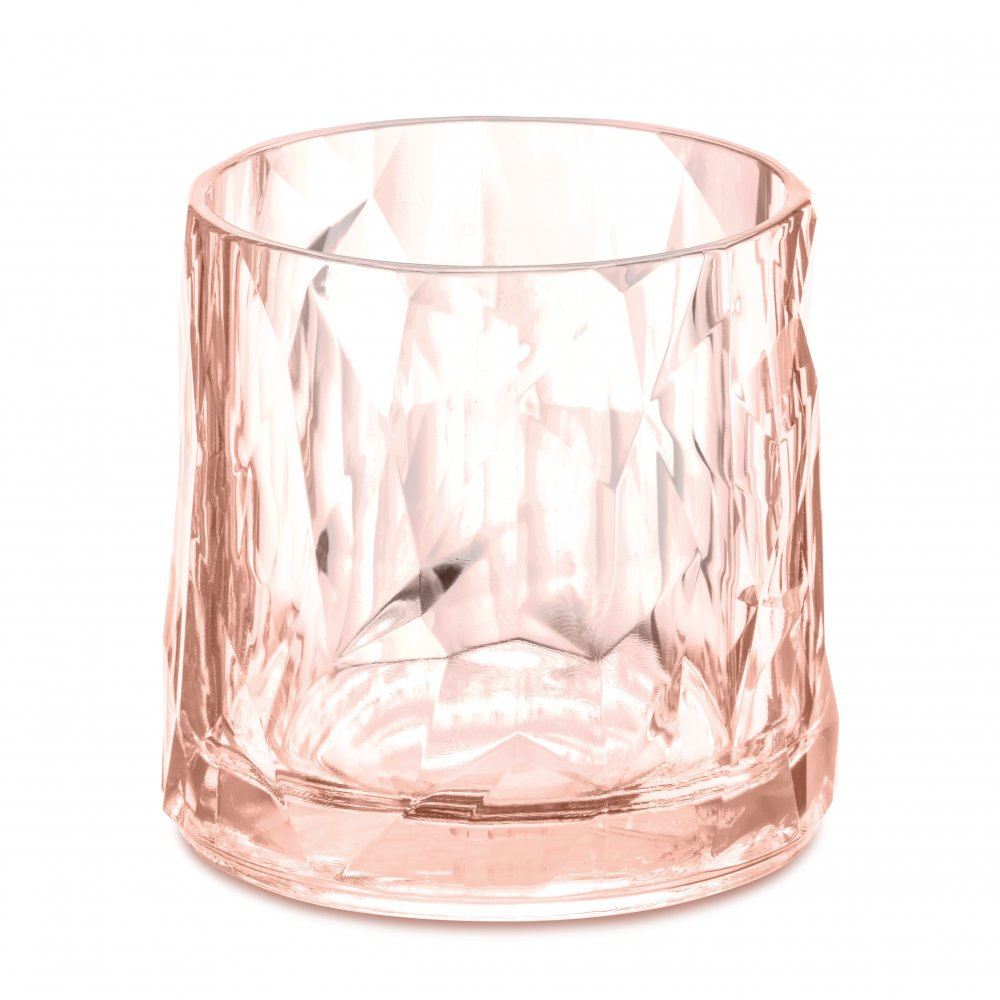 CLUB NO. 2 Superglas 250ml transparent rose quartz