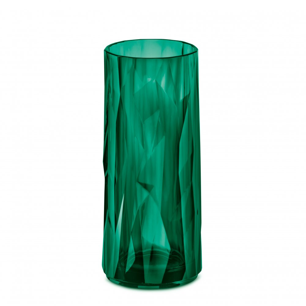 CLUB NO. 3 Superglas 250ml transparent emerald green