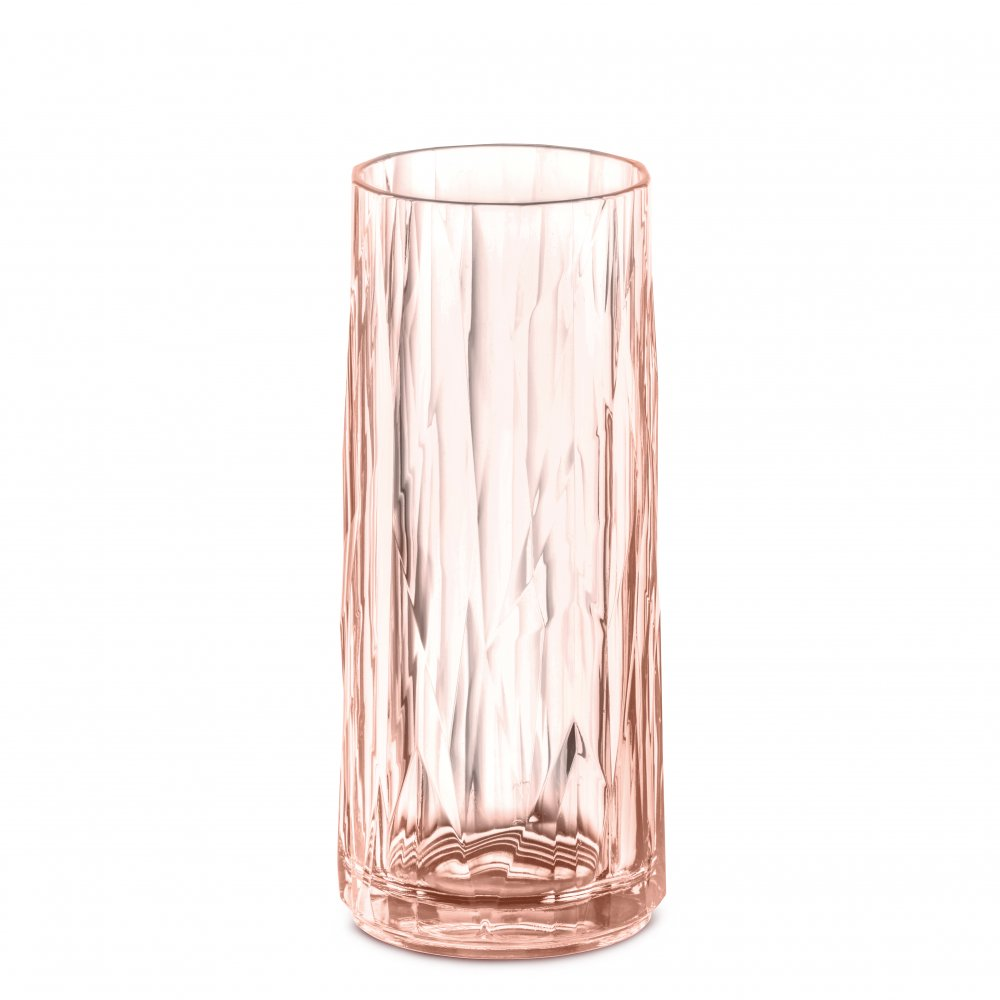 CLUB NO. 3 Glass 250ml transparent rose quartz